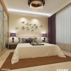 精美大小97平现代三居卧室设计效果图