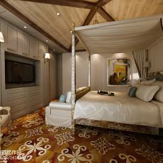 精美大小101平美式三居卧室欣赏图