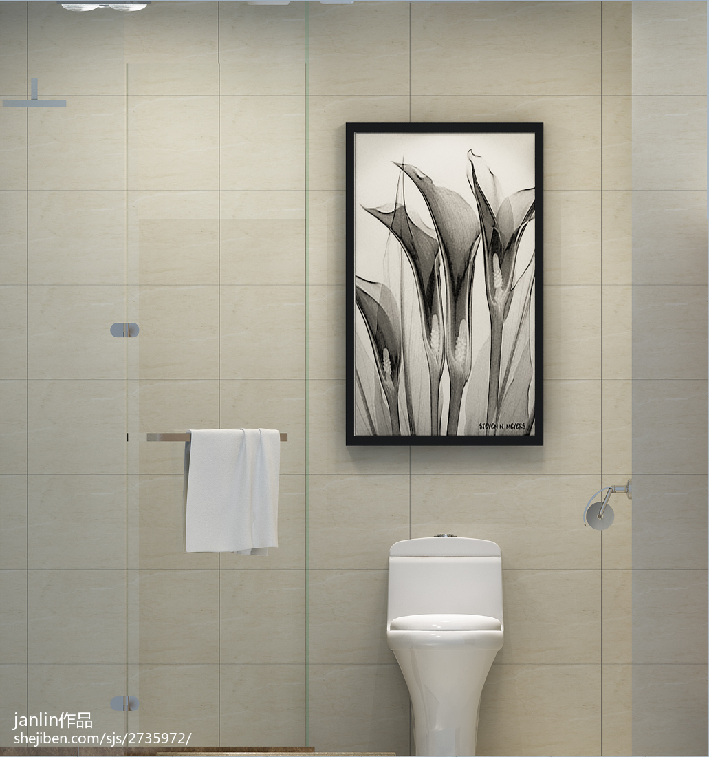 精选小户型卫生间现代装修效果图