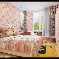 精选美式二居卧室实景图片