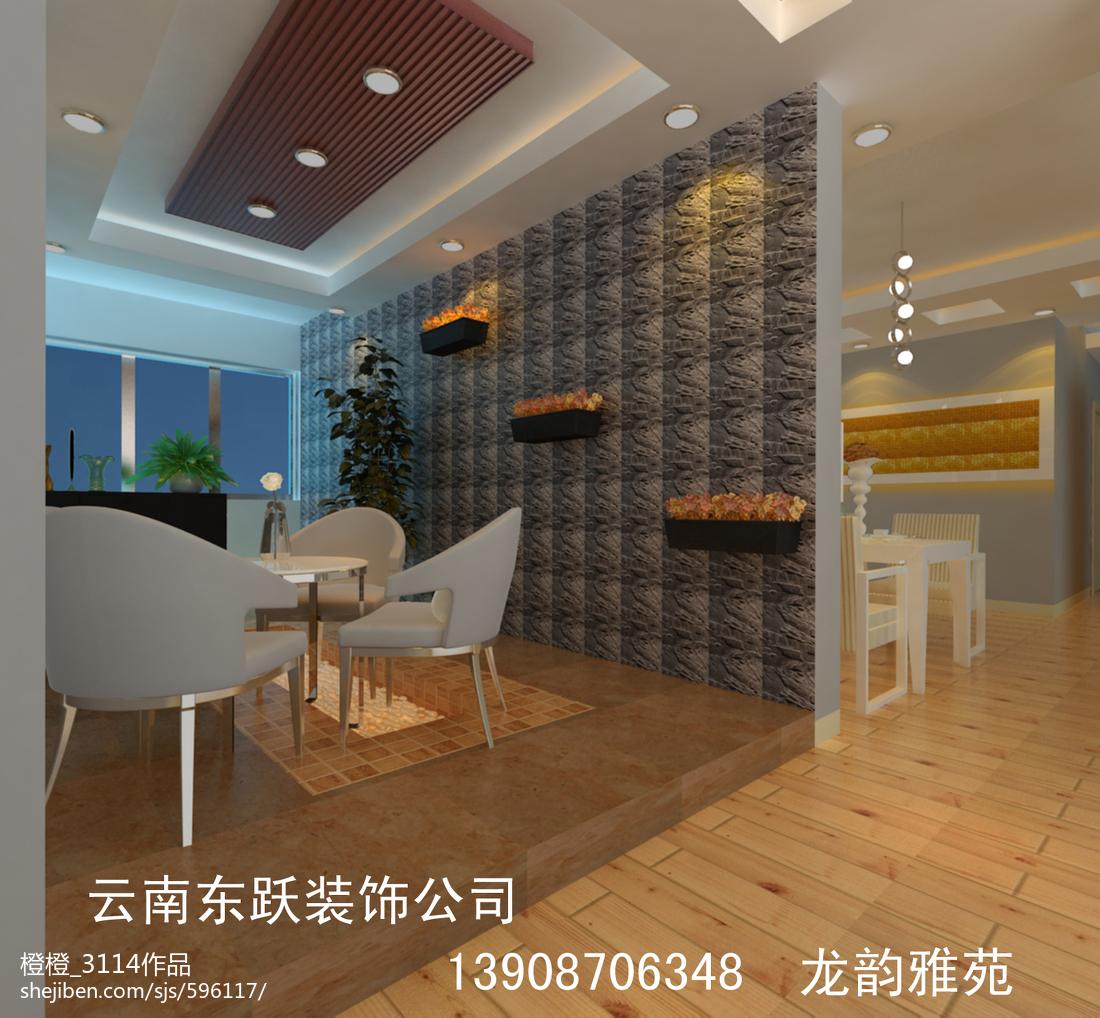 精选109平米三居休闲区现代装修实景图片大全
