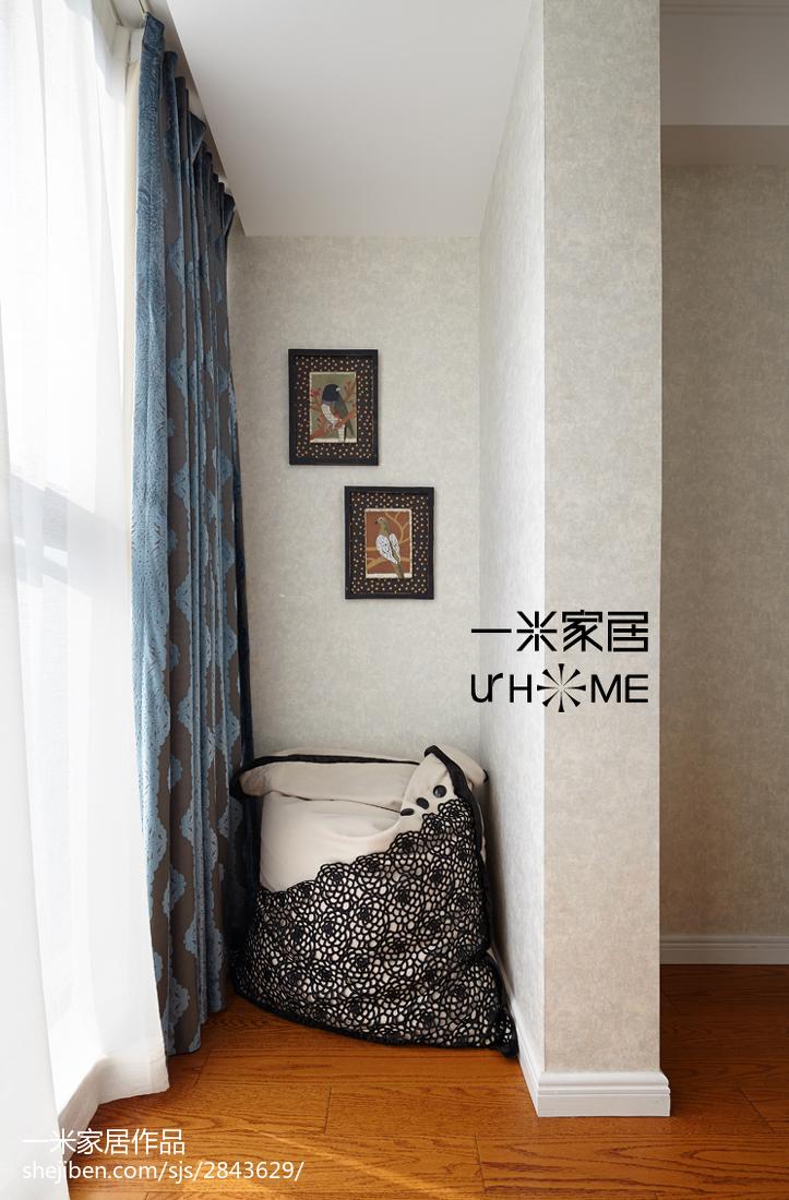 2018精选134平米四居儿童房欧式装修实景图片欣赏