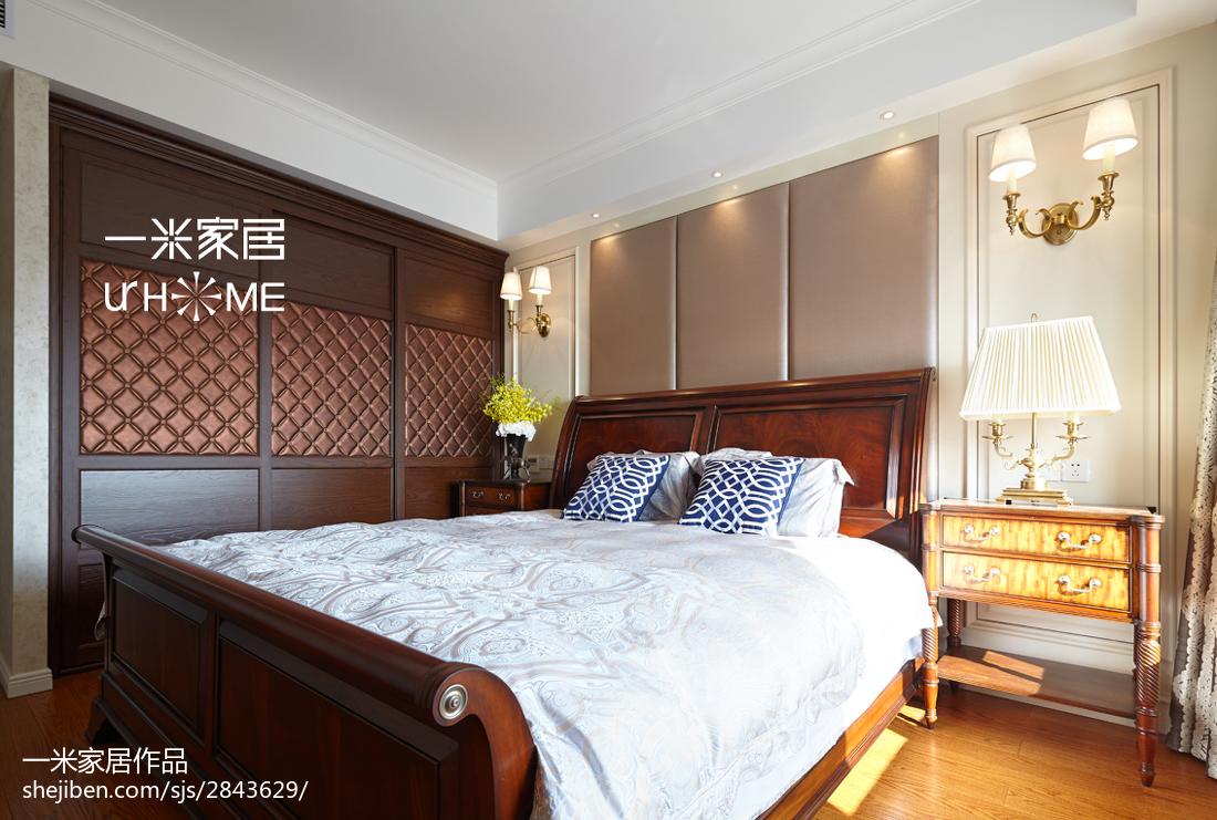 热门138平米四居卧室欧式效果图