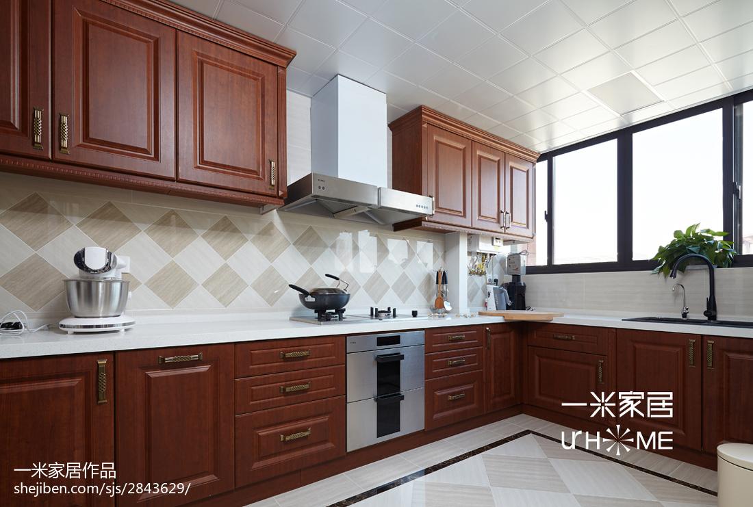 2019134平欧式四居厨房装修图片