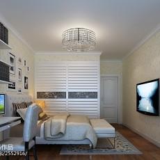 精美大小84平现代二居卧室装修设计效果图片