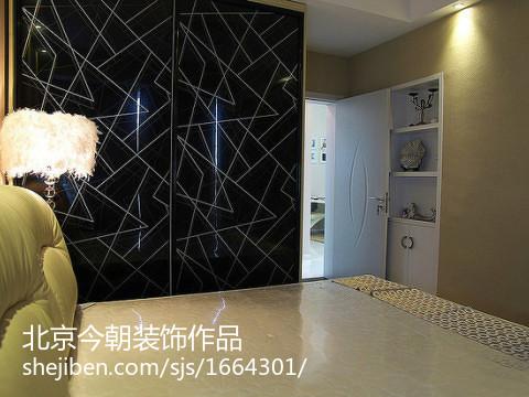 日式风格室内隔断门图片