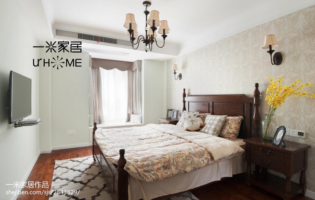 2018复式卧室美式装修图片