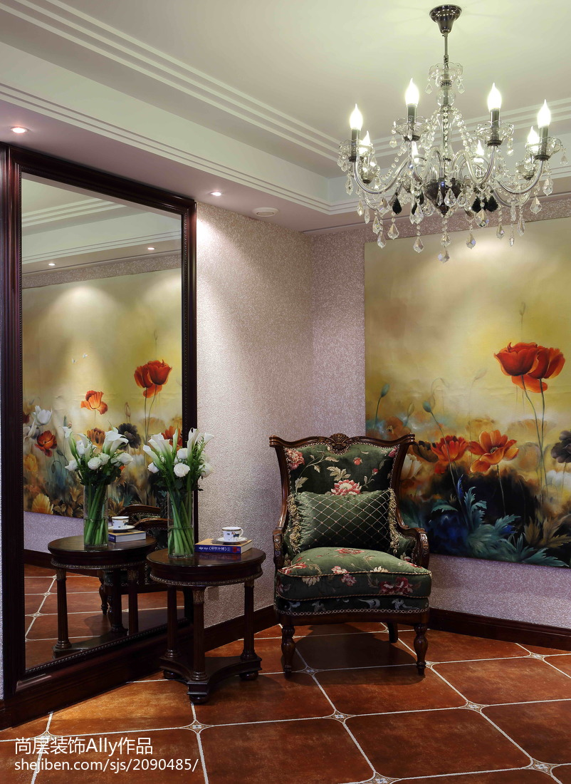 热门122平米欧式别墅客厅装修设计效果图片欣赏