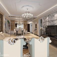 精选100平方三居客厅欧式装饰图片大全