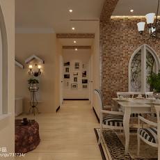 精选面积95平混搭三居客厅实景图