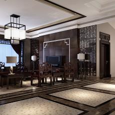 2018面积143平别墅客厅中式实景图片