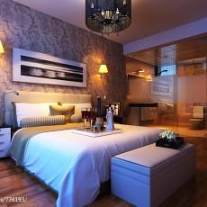 精美三居卧室现代装修设计效果图
