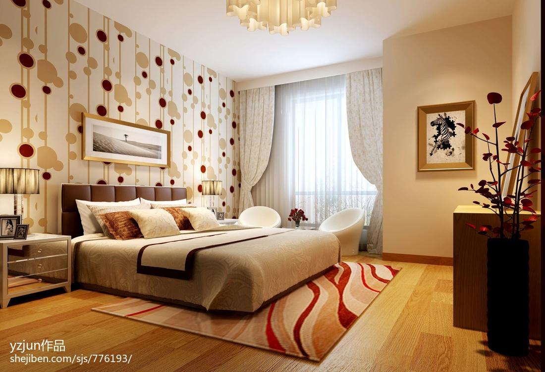 时尚现代欧式装修设计卧室效果图