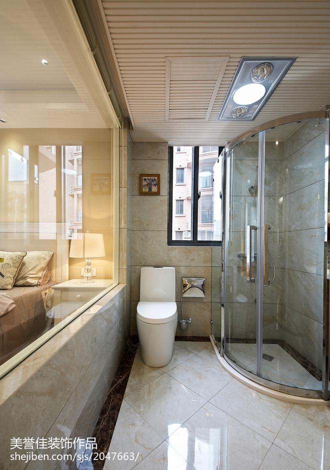 精选87平米现代小户型卫生间实景图片大全