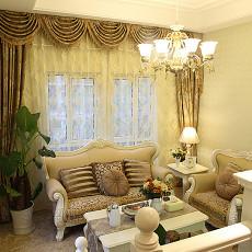 热门面积100平欧式三居客厅装饰图片