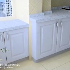 热门92平米三居厨房欧式装修效果图片大全
