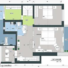 精选面积133平复式卧室现代效果图片