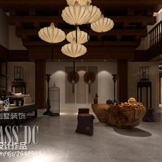 热门140平米中式别墅休闲区效果图片欣赏