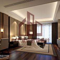 2018精选143平米现代别墅卧室装修效果图片大全