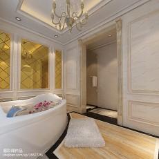 精选113平米新古典别墅卫生间装修图