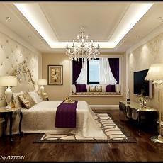 精美92平方三居卧室欧式装修效果图片