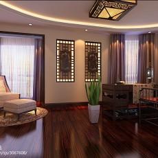 热门面积123平现代四居卧室装修效果图