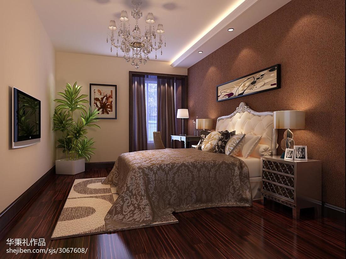 卧室装修效果图大全2012图片 现代装修简约风格卧室效果图