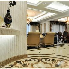 2018精选面积118平别墅客厅欧式装修图片