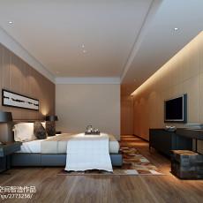 热门125平米四居卧室现代装修欣赏图