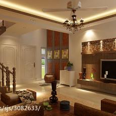 东南亚风格一室一厅设计图片欣赏