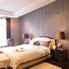 面积144平现代四居卧室效果图