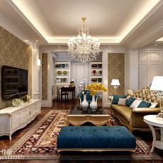 精选137平方欧式别墅卧室装修设计效果图片