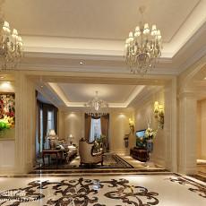 精选面积118平别墅客厅欧式装饰图片大全