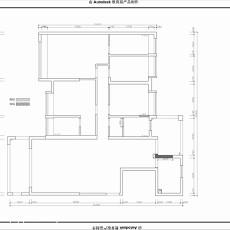 129平米四居客厅现代装修实景图