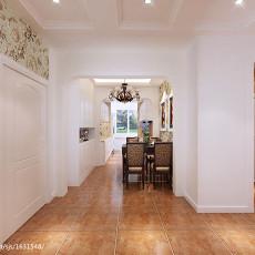 2018精选97平米三居客厅美式装修图片大全
