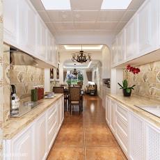 大小95平美式三居客厅装修效果图片欣赏