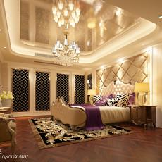 精选面积124平欧式四居卧室装修设计效果图片欣赏