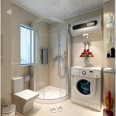 精美95平米三居卫生间现代装修图片欣赏