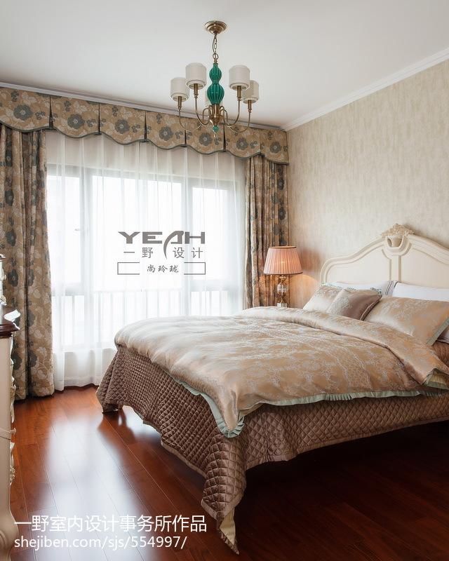 精选136平米四居卧室欧式装修图片大全