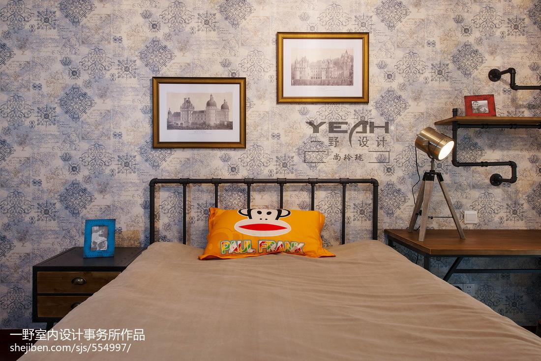精美面积119平欧式四居儿童房装修欣赏图