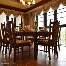 精美面积117平别墅餐厅东南亚效果图