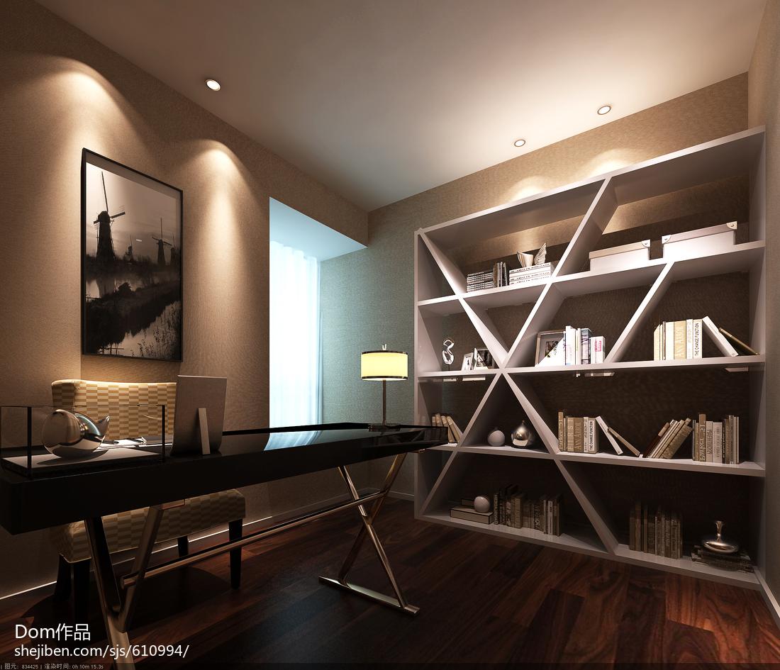 精美中式三居书房欣赏图片