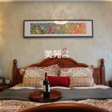 热门111平米四居卧室美式装饰图片大全