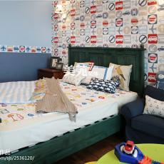 美式儿童房家装设计效果图