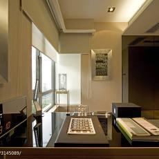 精美107平米三居书房现代装修实景图