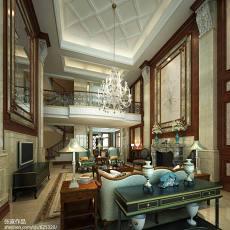 热门136平米欧式别墅客厅装修图片