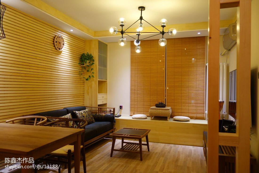 精美面积79平小户型客厅东南亚装修图片