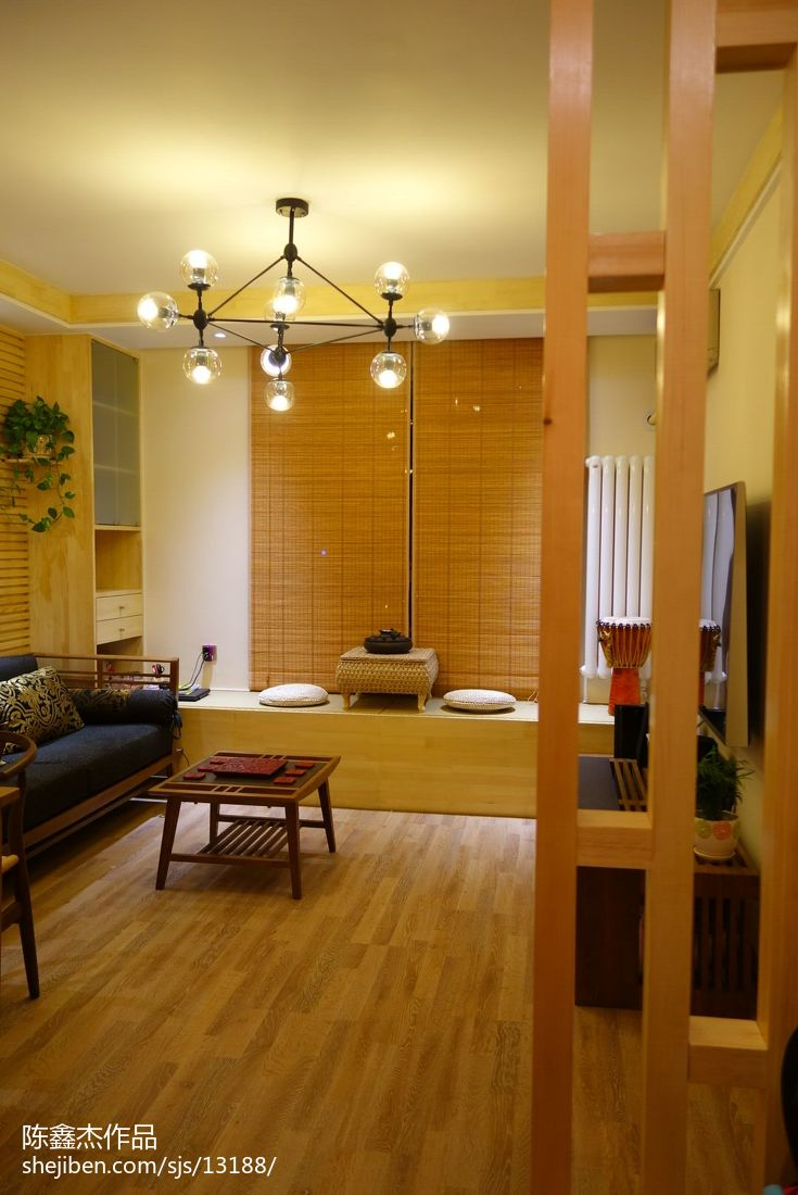 小户型东南亚风格客厅家装设计