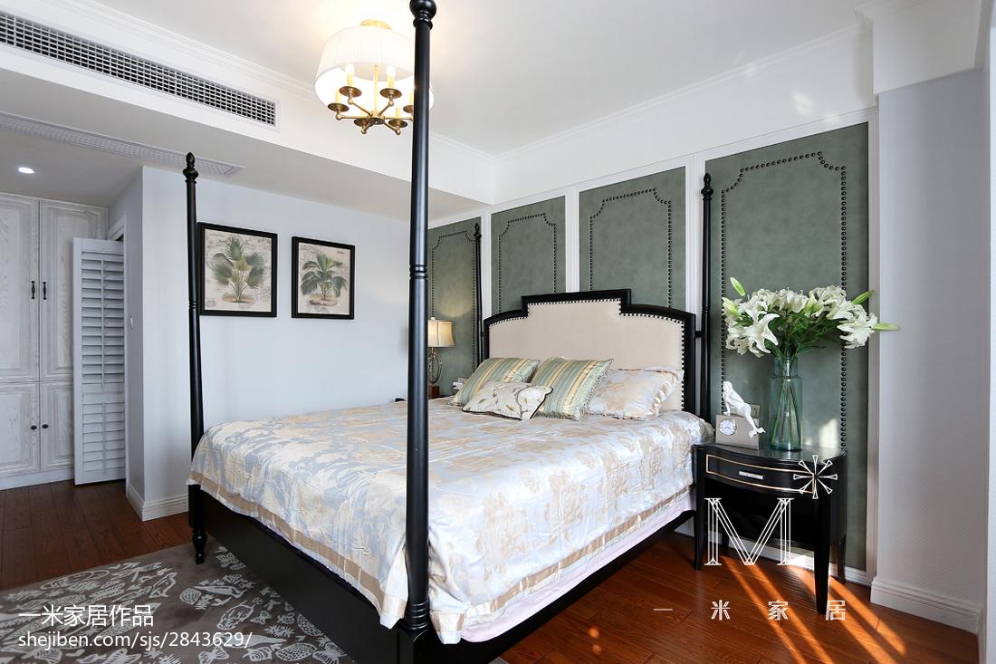 精致114平美式四居卧室图片大全