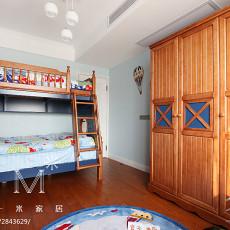 2018128平米四居儿童房美式装修设计效果图片大全